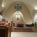 Photo taken at St. Stephen Martyr Catholic Church by Chris G. on 3/31/2013