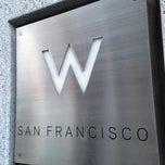 Photo taken at W San Francisco by Alex Z. on 6/3/2013