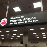 Photo taken at Phoenix Sky Harbor International Airport (PHX) by Rick B. on 7/7/2013