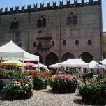 Photo taken at Piazza Sordello by Aira on 5/11/2013