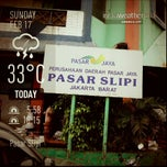 Photo taken at Pasar Slipi by Dokter S. on 5/16/2013