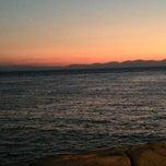 Photo taken at Scogliera di Pomonte by Lisa C. on 8/15/2013