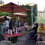 Photo taken at David Burke Kitchen - The Garden by Amnon B. on 6/12/2013