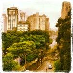 Photo taken at Rua Borges Lagoa by Neli Maria M. on 10/3/2013