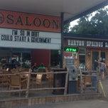 Photo taken at Barton Springs Saloon by David M. on 10/10/2013