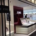 Photo taken at JINS 有楽町阪急メンズ東京店 by HAKU on 12/25/2013
