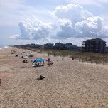 Photo taken at Avon Fishing Pier by IConJohn on 8/30/2014