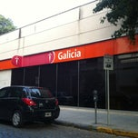 Photo taken at Banco Galicia Sucursal San Isidro by Ezequiel P. on 1/4/2013