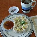 Photo taken at Rice Thai Cafe by Tom M. on 4/5/2014