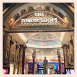 Photo taken at The Forum Shops at Caesars by Caleb E. on 6/2/2013