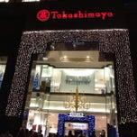 Photo taken at Takashimaya S.C. by Secondary T. on 12/26/2012
