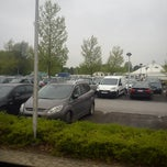 Photo taken at Parking Utopolis by Cindy C. on 5/20/2013