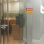 Photo taken at Santander by Rafaella on 3/12/2014