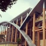Photo taken at Pustaka Wilayah Soeman HS by Danny R. on 6/9/2013
