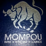 Photo taken at Mompou Tapas Bar & Lounge by Michael G. on 1/27/2012
