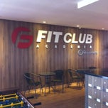 Photo taken at Fit Club Academia by Eduardo H. on 5/12/2013