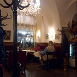 Photo taken at Cafe Frauenhuber by Olivier K. on 9/30/2013