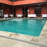 Photo taken at Hotel San Roque by JC Bonilla on 8/14/2014