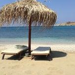 Photo taken at Porto Koundouros Beach by Minas L. on 7/7/2013