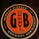 Photo taken at Gordon Biersch Brewery Restaurant by Daniel E. on 6/12/2013