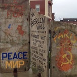 Photo taken at Berlin Wall by Kristine P. on 9/21/2014