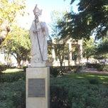 Photo taken at San Augustin Plaza by Juan B. on 11/29/2014