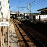 Photo taken at 男川駅 (Otogawa Sta.) by Tommy K. on 8/26/2013