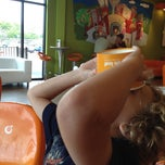 Photo taken at Orange Leaf by Sam P. on 6/17/2012