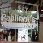 Photo taken at Pablinni's Chef by Johnny L. on 7/4/2013