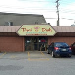 Photo taken at Thai dish by Jose Fernando P. on 7/14/2013