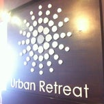 Photo taken at Urban Retreat Spa by Ben S. on 1/6/2013