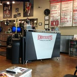 Photo taken at Knockouts Haircuts for Men by Jonathan C. on 1/26/2013