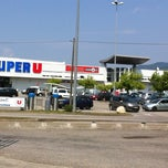 Photo taken at Super U Pontcharra by Maud M. on 7/16/2013