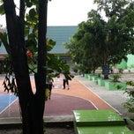 Photo taken at SMAN 9 Pekanbaru by Michael Wilzon on 9/7/2013
