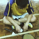 Photo taken at Dewan Badminton BCB by Afee A. on 6/30/2013