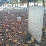 Photo taken at Stones River National Cemetery by Chris W. on 11/11/2013