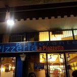 Photo taken at Pizzeria La Piazzetta by Denis P. on 5/7/2012
