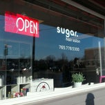 Photo taken at Sugar Salon by Jenise T. on 3/9/2012