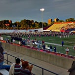 Photo taken at Warren McGuirk Alumni Stadium by Alecia O. on 9/17/2011