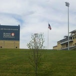 Photo taken at Joe Walton Stadium by Douglas on 5/1/2012