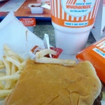 Photo taken at Whataburger by Mr Big D. on 6/2/2012