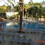 Photo taken at Oasis Golf Resort Hotel Tenerife by Jen on 10/21/2011
