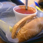 Photo taken at Sharkey's Coffee & Bistro by Jordan C. on 8/19/2011