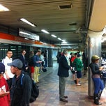Photo taken at MBTA Downtown Crossing Station by Hugh G. on 5/15/2012