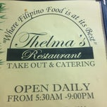 Photo taken at Thelma's Restaurant by Mo' B. on 7/6/2012