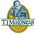 Photo taken at T J Maloney's Irish Pub by Heather on 4/26/2013