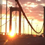 Photo taken at Delaware Memorial Bridge by Kathy H. on 8/24/2013