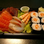 Photo taken at Sushi Q by Blue T. on 6/26/2014