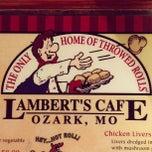 Photo taken at Lambert's Cafe by Dan G. on 11/21/2012