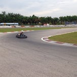 Photo taken at Sepang International Go Kart Track by Ieka A. on 4/30/2015